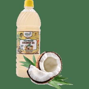 cold pressed coconut oil