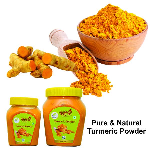 Why prefer natural turmeric?