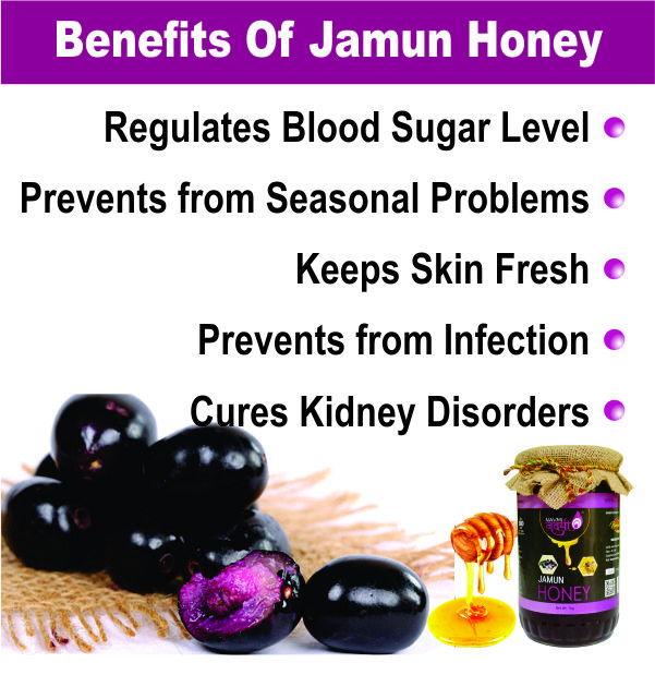 Benefits of Jamun Honey