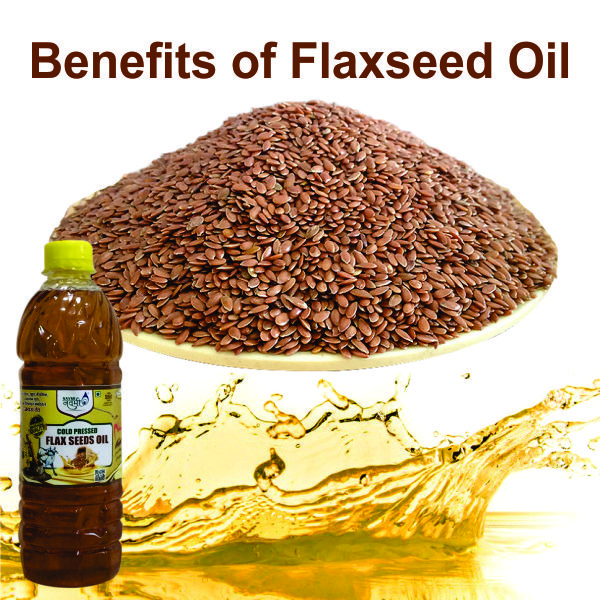 What are the Uses & benefits of flaxseed oil?
