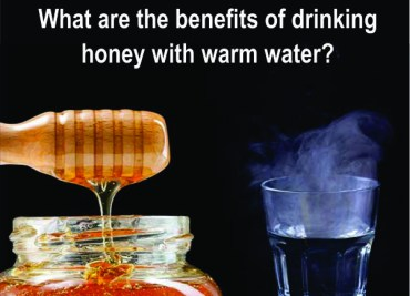 What are the benefits of drinking honey with warm water