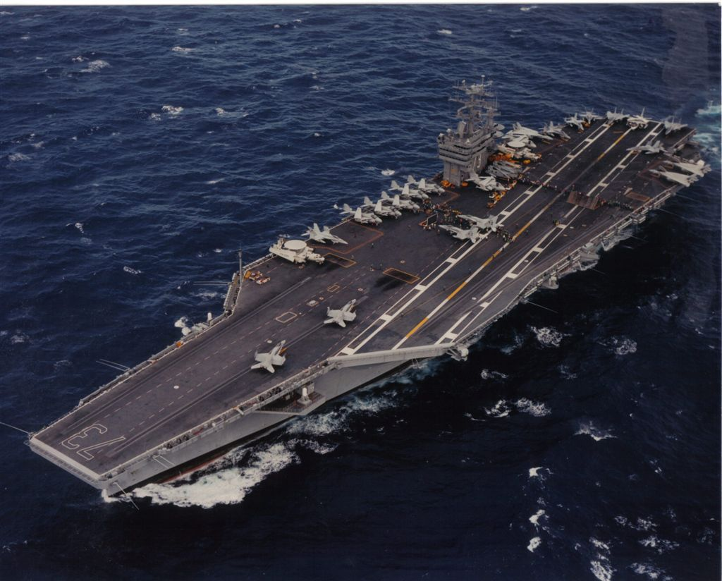 aircraft carrier photo index: uss george washington (cvn-73)