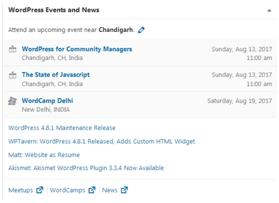 Nearby WordPress Events