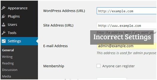 wordpress session expried error