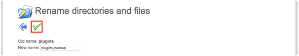 Rename directories and files