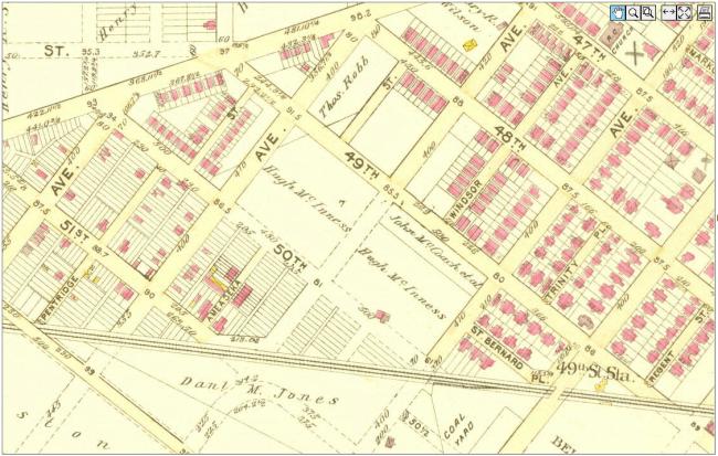 Atlas of the City of Philadelphia (Bromley, 1895)
