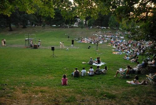 Shakespeare In Clark Park's 2007 production of Romeo and Juliet