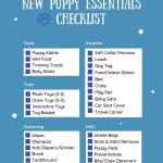 The Ultimate New Puppy Essentials Checklist Navy Corgi