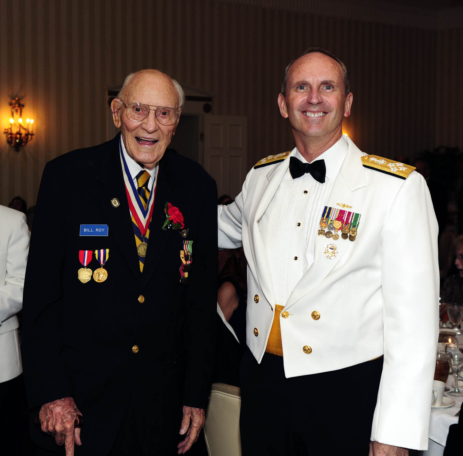 Cno And Symonds Talks Highlight Midway Commemoration
