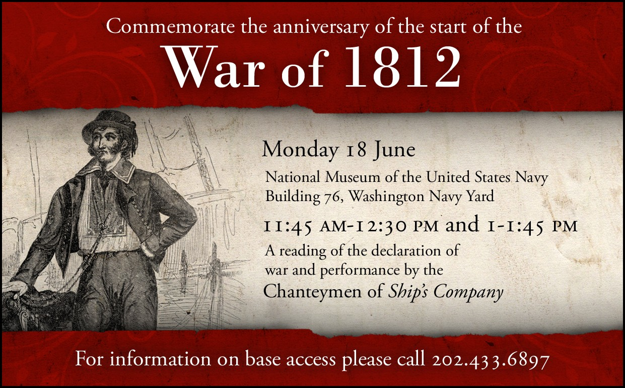 Declaration Of The War Of To Be Read At Navy Museum