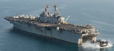 USS ESSEX LHD-2 SHIP'S PHOTO