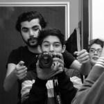 نەوا موکرجی لە کاتی فیلمسازیدا. فۆتۆ: سوڵتان یوسف. 2016