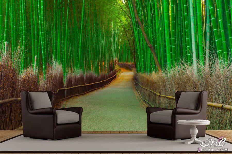 شركة تصميم ارضيات وحوائط وستائر مائية ثلاثية الابعاد 3d بالرياض
