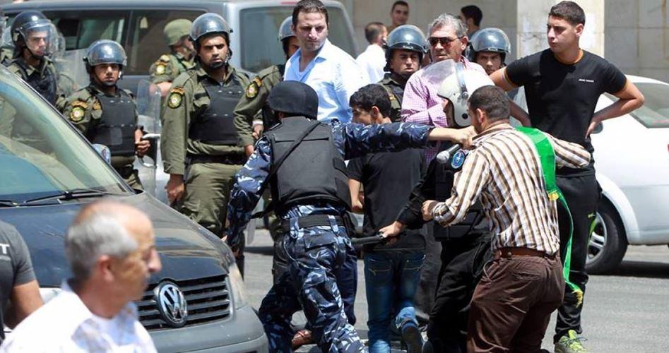 أجهزة أمن السلطة تعتقل عدد من المواطنين في الضفة