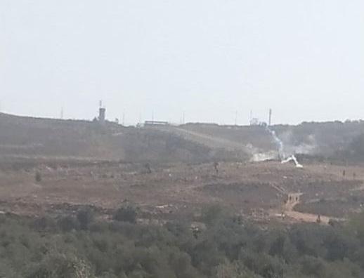 إصابات بالاختناق خلال مواجهات مع الاحتلال في بلدة بدو