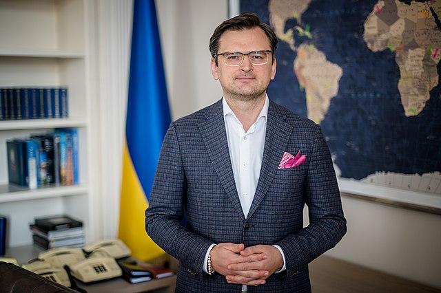 Dmytro Kuleba szef MSZ Ukrainy