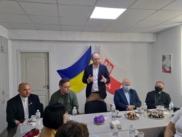 Marcin Przydacz w Ukrainie
