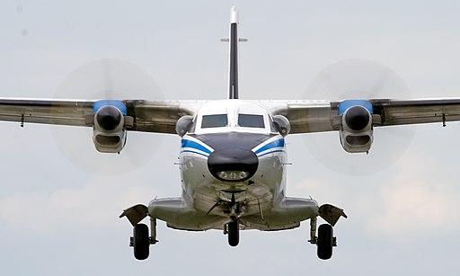 W Rosji rozbił się dwusilnikowy samolot L-410