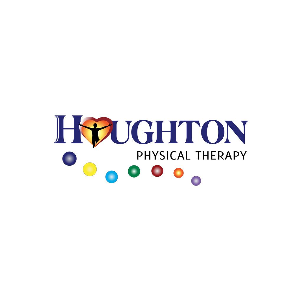 Houghton PT Logo WhiteBack // Logo Design