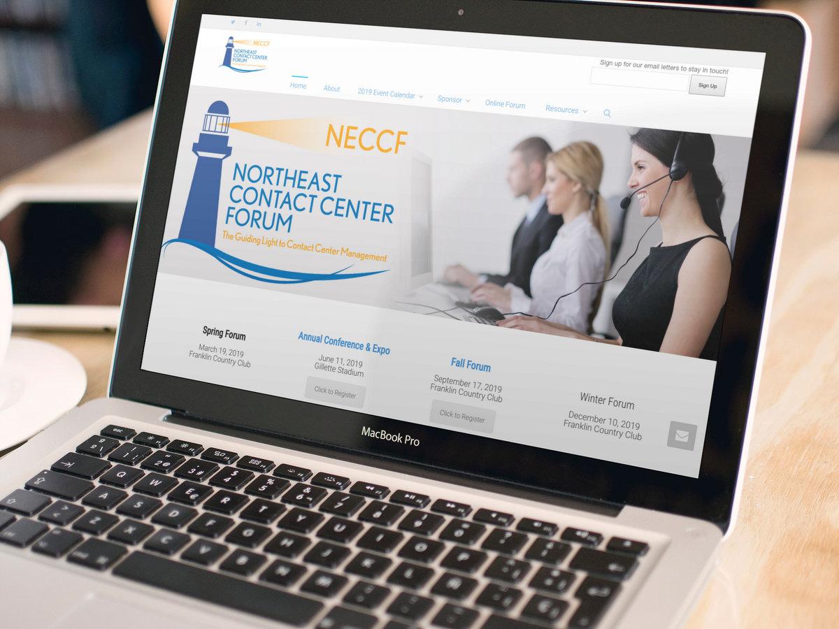 NECCF.org // Website Design