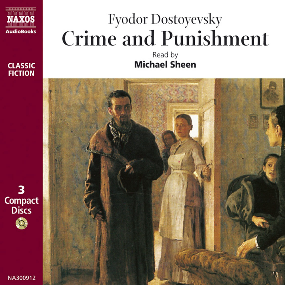 Crime And Punishment Unabridged Naxos Audiobooks