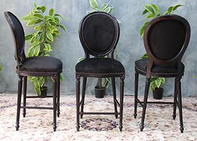 nayar fabricant chaise de bar medaillon