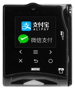 Nayax offers mobile payment apps Alipay and WeChat Pay