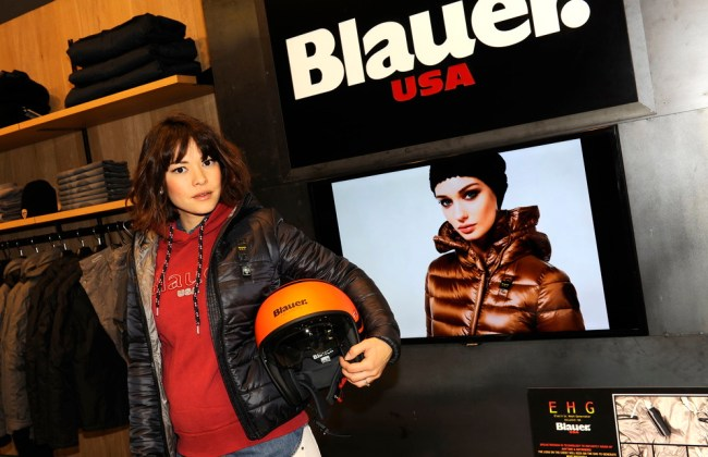Outfit Blauer store milano Nayla Carvalho