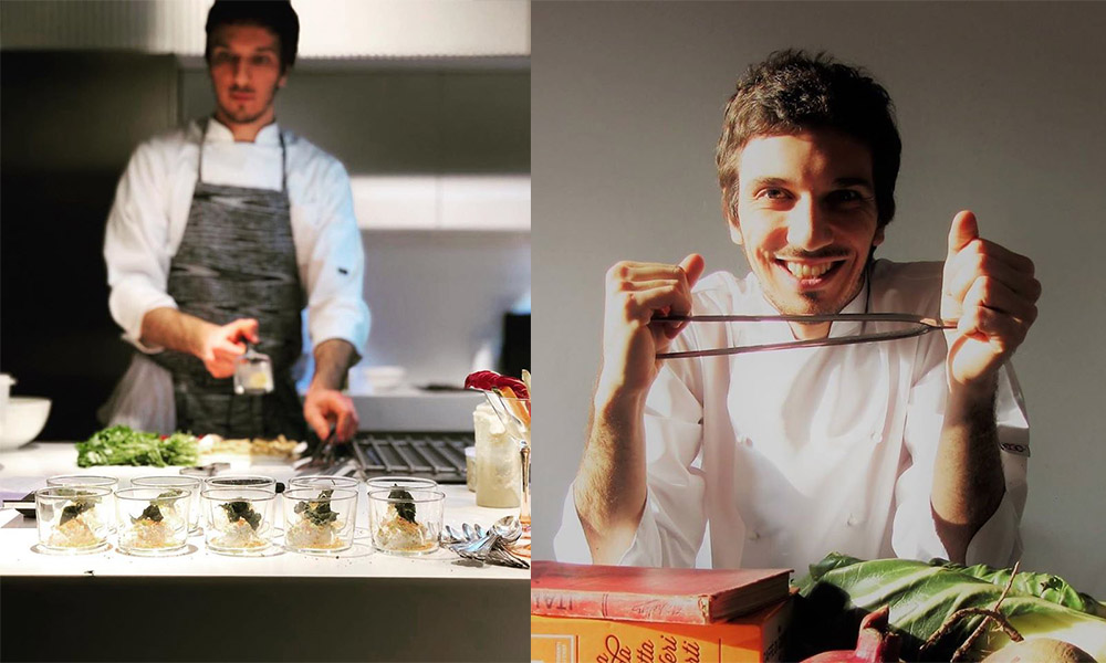 Luca Pizzoccheri chef