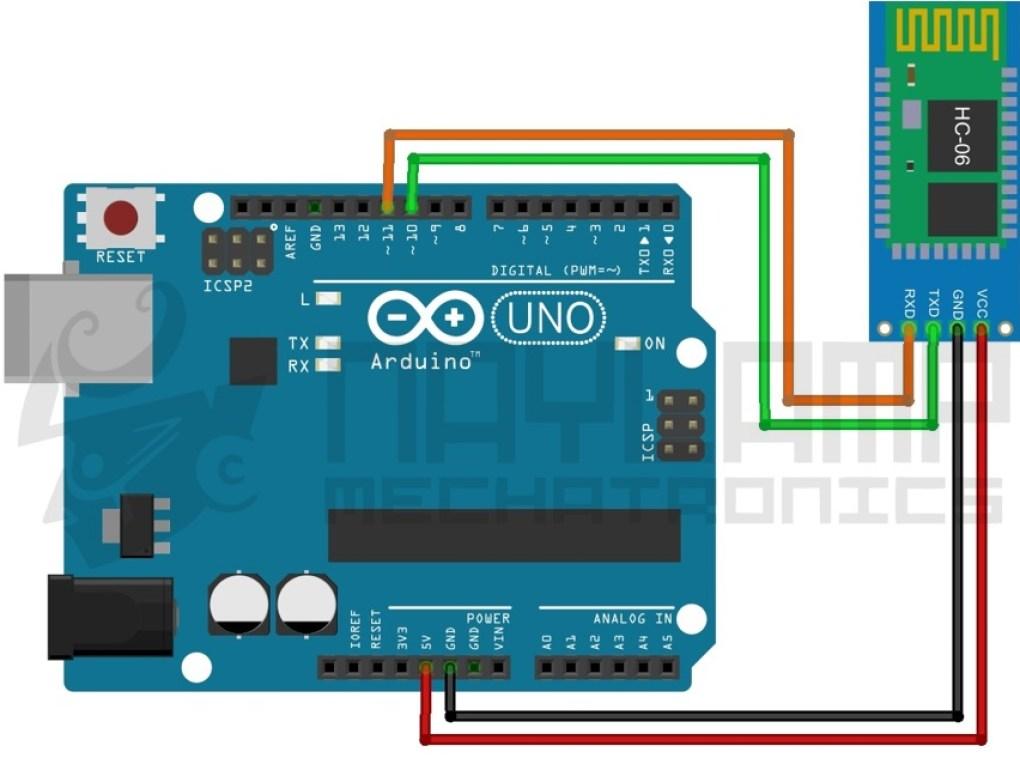 Comandos AT HC-06 con Arduino