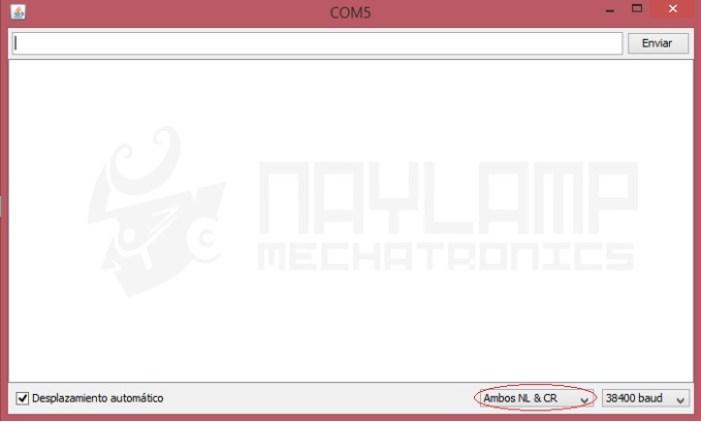 Configuracion Monitor Serial