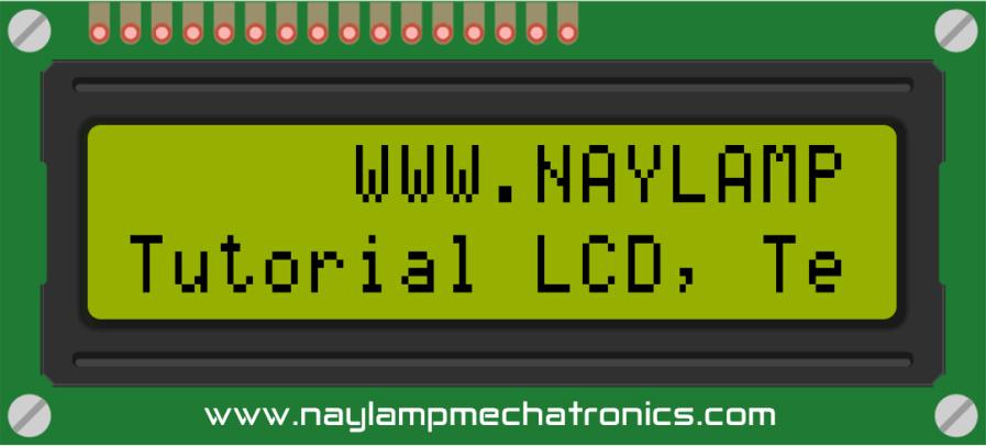 Desplazamiento de texto LCD con Arduino