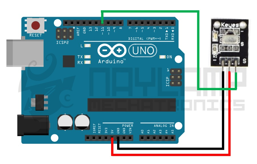 Conexion IR remote ARduino