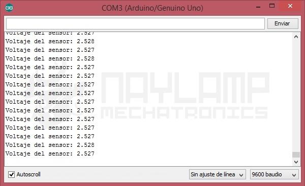 ACS712 lectura de voltaje para 0A