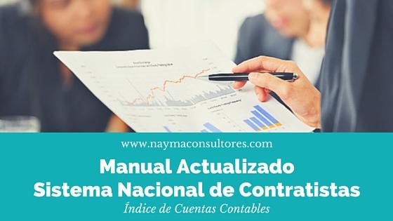 Manual Actualizado Sistema Nacional de Contratistas