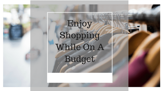 Shopping while on a budget