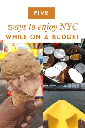 Smorgasbord in New York City adventures