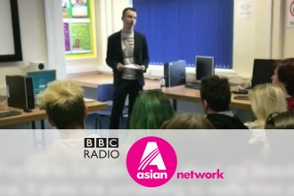 BBC Asian Network Interview, Bradford Schools Tour October 2016