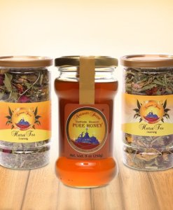Honey Morning and Evening Herbal Tea