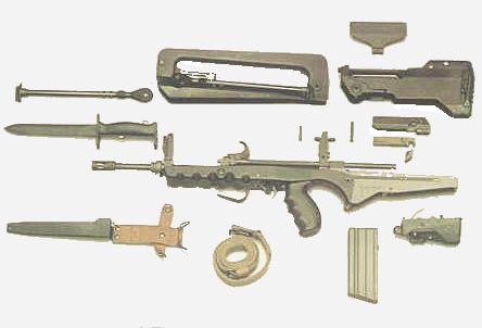 famas tüfek parçaları