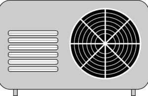 Outdoor air conditioner unit