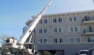 crane at building