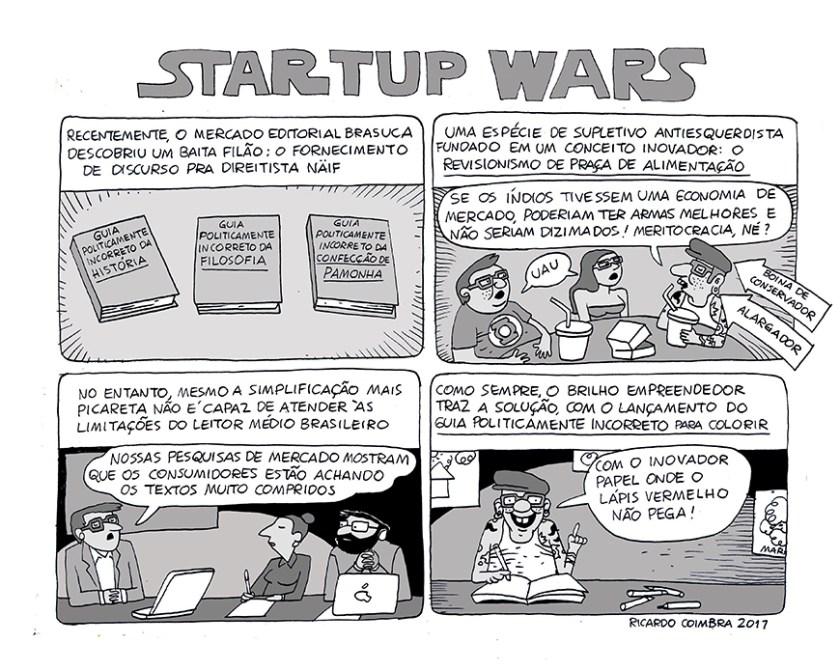"""Startup Wars V"", Ricardo Coimbra"