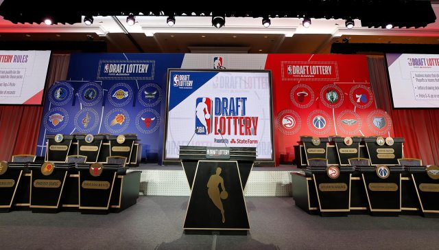 2019 NBA Draft Lottery Stage