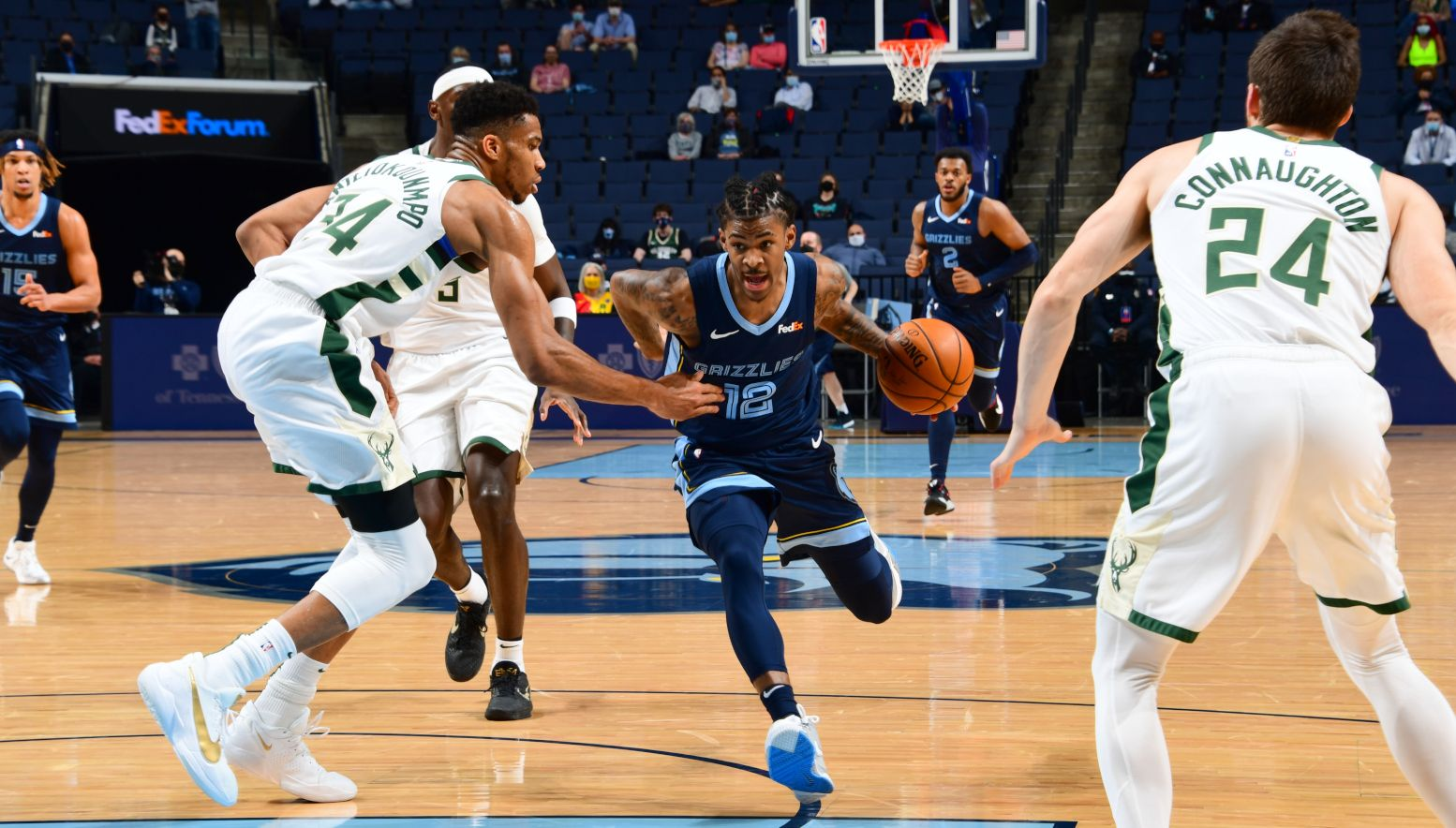 Post-match report: The Grizzlies fall to the Bucks in the final seconds 112-111