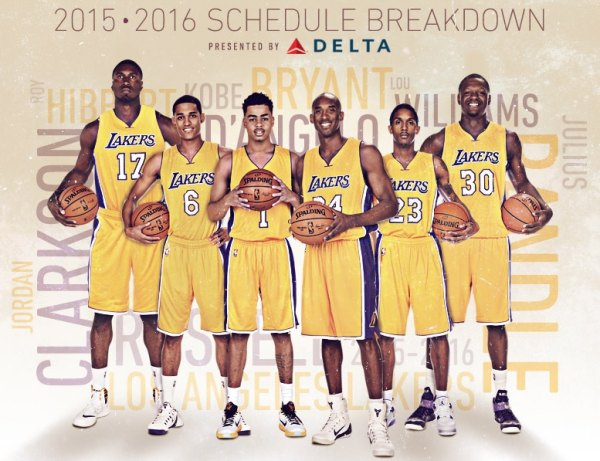 2015-16 Lakers Schedule Breakdown | Los Angeles Lakers