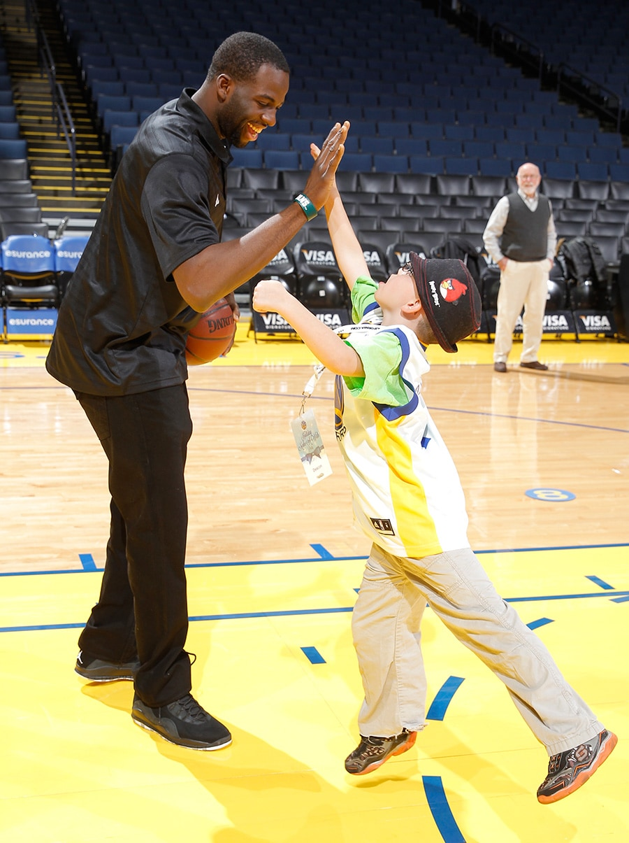 Warriors Make A Wish Holiday Party Presented By Comcast SportsNet Bay Area Golden State Warriors