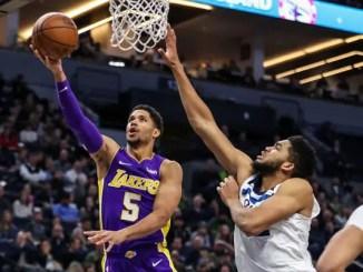 Josh Hart, Los Angeles Lakers, Karl-Anthony Towns, Minnesota Timberwolves