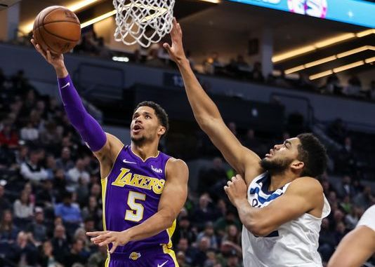 Josh Hart, Los Angeles Lakers, Karl-Anthony Towns, Minnesota Timberwolves