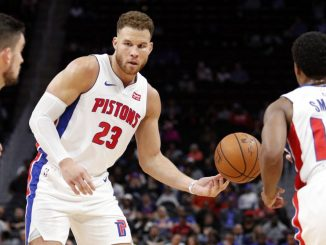 Blake Griffin, Ish Smith, Detroit Pistons, Bucks, Heat, Warriors, Hornets, Thunder, Clippers